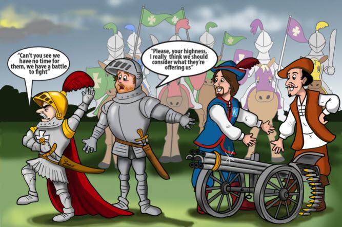 Funny_Sales_Cartoon_King_Machine_gun_salesman_b