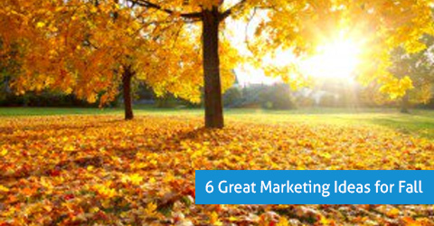 great fall marketing ideas