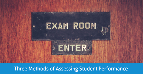 Three Methods of Assessing Student Performance in Tutoring Sessions